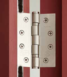 *2. Hinges should be selected according to the total mass; actual door mass plus the mass added by the door closer.