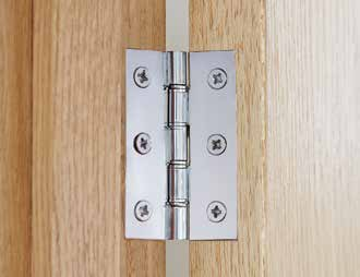 Hinges Sold as single units unless otherwise stated.