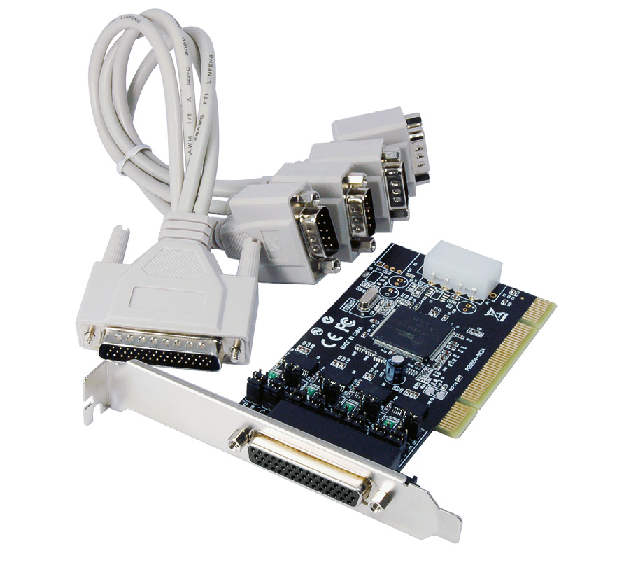 4 Port RS232 PCI Serial Card with Power PCI4S954PW *actual product may vary from photos DE: Bedienungsanleitung - de.startech.com FR: Guide de l'utilisateur - fr.startech.com ES: Guía del usuario - es.