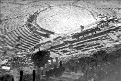 1. INTRODUCTION In ancient architectural acoustics, the concepts of reverberation, interference, echo disturbance, and clarity of voice were described [1], Ancient Greek and Roman theaters are the