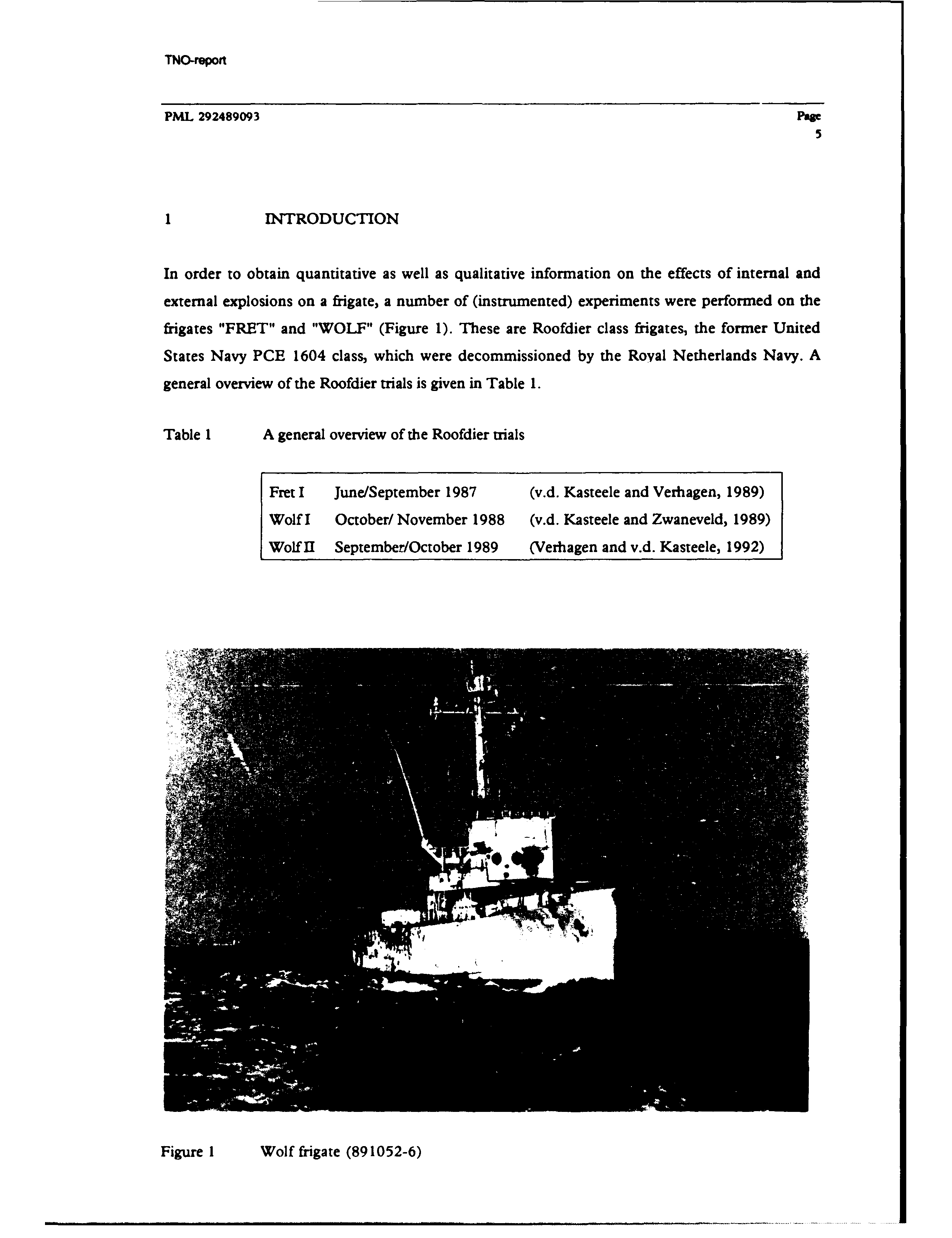 Lille Llliinstrumented Experiments Aboard The Frigate Wolf Pdf