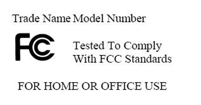 Federal Communications Commission (FCC) Notice (U.S. Only) Note: This equipment has been tested and found to comply with the limits for a Class B digital device, pursuant to Part 15 of the FCC Rules.