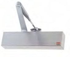 Lockwood Catalogue 7726 Door Closer Series A range of adjustable power door closer units suitable for architectural and commercial applications.