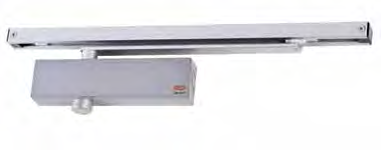 7724 Slide Arm Door Closer Series The Slide Arm Series permits smoother opening by way of reducing power as the door opens.