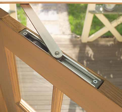 Lockwood Door Stays 8001C Concealed Door Stay The Lockwood concealed door stay is the ideal choice where an uncluttered look or the clean lines of the door are required to be seen.