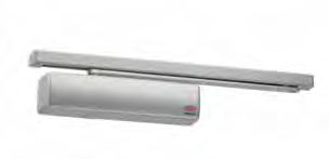 Lockwood 2514 door closer can be adjusted to meet the requirements of a light door opening resistance and is ideal for both interior and exterior doors.