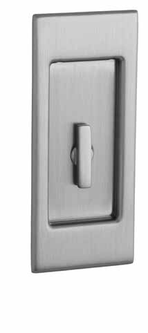 "xxx.KT Interior Trim with Turn Knob (KT) Each 120 135 *Entry set excludes cylinder. Minimum Door Thickness: 1.375"" Minimum Door Thickness for flush installation: 1 Sets PD006.xxx.PRIV PD006.xxx.PASS Exterior Trim PD006."