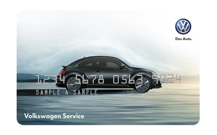 Additional Cards at no extra cost and More! Thank you for applying for the Volkswagen Service Credit Card.