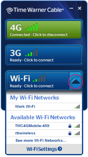Getting the Most out of Your Connection Manager How do I use the Connection Manager to manage WiFi?