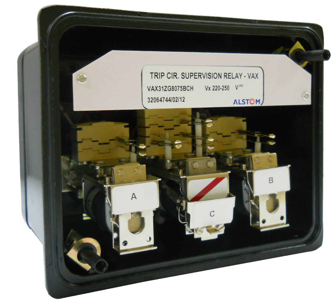 Trip Circuit And Coil Supervision Relay Pdf Solid State Meaning Types Vax Mvaxm Relays Features Simple Robust Construction Positive Action Without