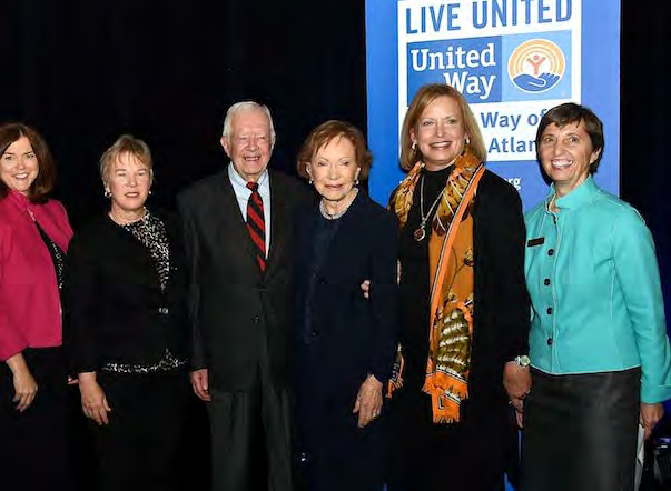 Created in 2001 to encourage more women to get involved with United Way s Tocqueville Society, the Tocqueville Women s Leadership Council provides special engagement opportunities for women to