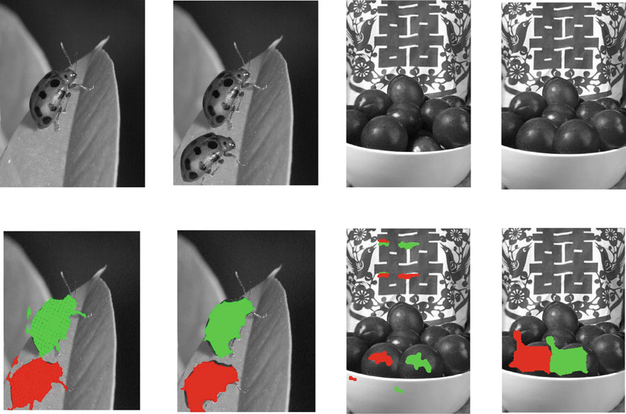 462 M. Jaberi et al. (a) (b) (a) (b) (c) (d) (c) (d) Fig. 4 Detection of image forgery assuming scale or rotation Scale, WinSize:Medium Scale, WinSize:small.7.7.2...2.7.2...2.7 Fig.