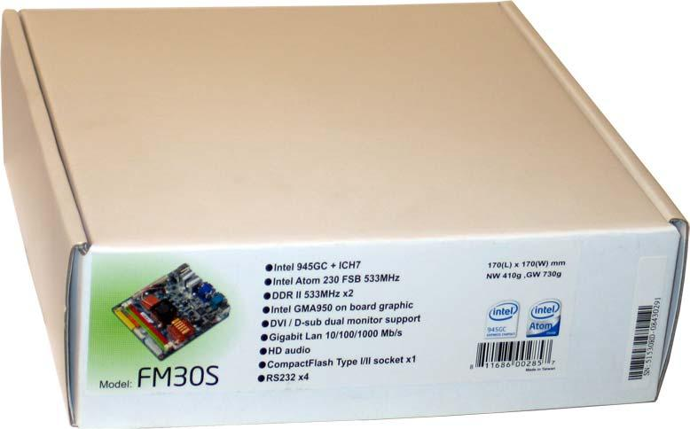 Shuttle Mainboard FM30 What is in the package?