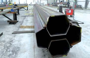 threaded steel core piles