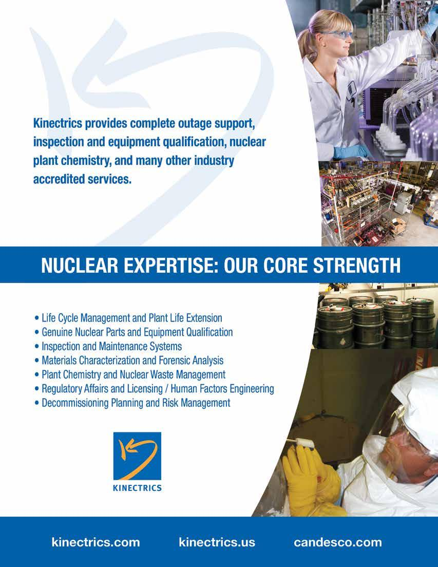 ANNUAL INDUSTRY REVIEW & BUYER S GUIDE. Nuclear Canada Yearbook. cns ...