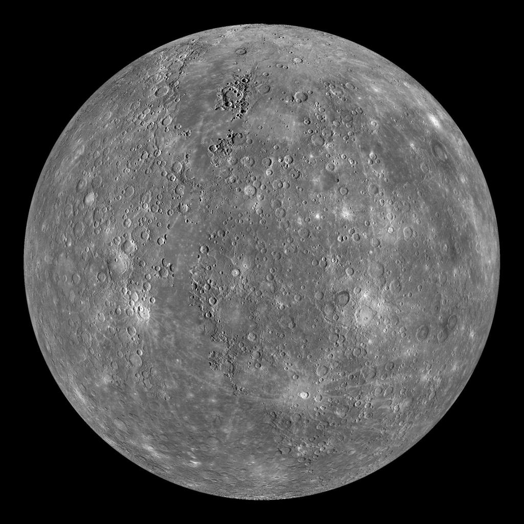 Mercury : Battered Remnant Recently explored by the Messenger spacecraft Impact