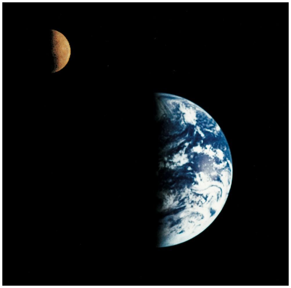 Earth: The cradle of life A complex biosphere A massive Moon Geologic