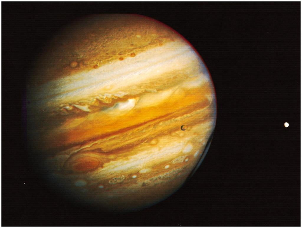 Jupiter : Lord of the heavens More mass than all other planets put together First of the