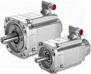 Motors Feed motors for SINAMICS S120 Combi 1FK7 Compact/1FK7 High Inertia synchronous motors Natural cooling Overview Benefits 7 Maximum machine dynamics thanks to optimum relation between torque and