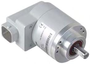 Measuring systems Built-on optoelectronic rotary encoders Absolute encoders 6 Function DRIVE-CLiQ absolute encoder Absolute encoders (absolute shaft encoders) are designed on the same scanning