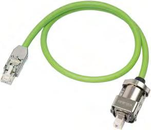Connection system MOTION-CONNECT Signal cables Overview Application DRIVE-CLiQ signal cables without 24 V DC cores are used to connect components with DRIVE-CLiQ connections which have a separate or