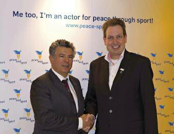 Magazine of the International Korfball Federation Peace and Sport Foundations and IKF partners The International Korfball Federation and the Peace and Sport Foundation signed an agreement 7 April