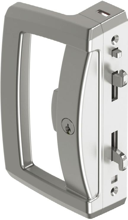 Aria Endeavour Sliding Door Lock Suitable for use with aluminium, timber or upvc horizontal sliding doors, the Aria Endeavour Surface Mounted Sliding Door Lock incorporates enhanced security and