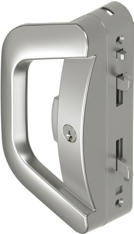 Albany Endeavour Sliding Door Lock ASSA ABLOY have combined the iconic Albany furniture styling with the superior features of the Endeavour Surface Mounted Sliding Door Lockbody to create the Albany