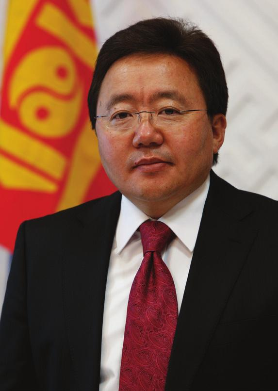 Mongolia is willing to open up new gateways for the issues [currently] at standstill.