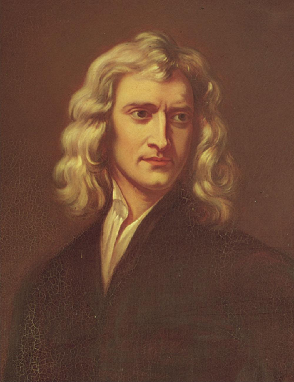 Sir Isaac Newton 1642 1727 Formulated basic laws of mechanics Discovered Law of Universal