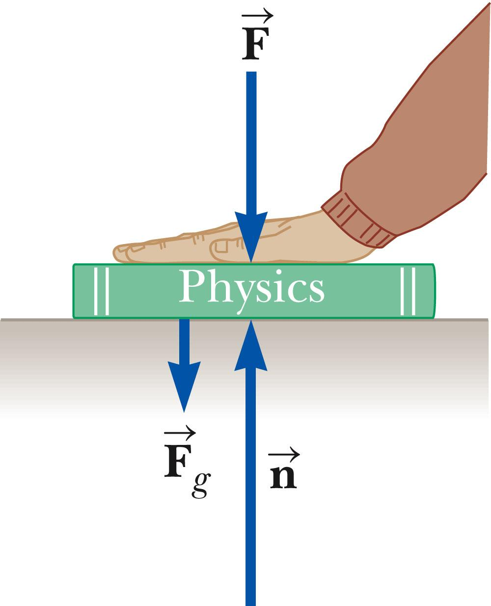 Note About the Normal Force The normal force is not always equal to the gravitational force of the object.