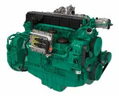 and low emission levels, Volvo Penta diesel engines for
