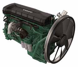 Regardless of emission standard, engines in each size family have a similar footprint.