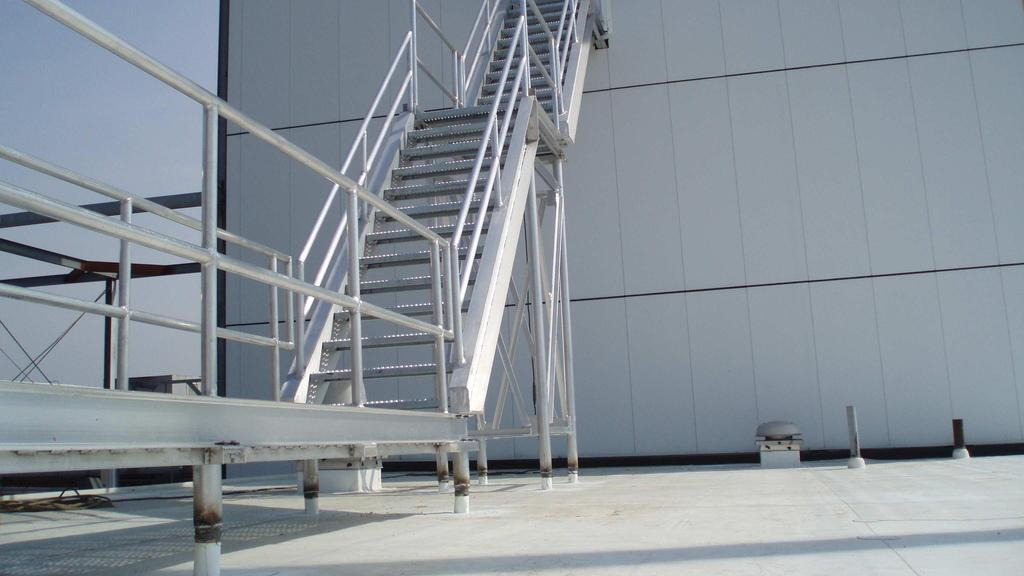 Industrial Walkways and Bridges Industries require affordable, low-maintenance, stable structures for access and to