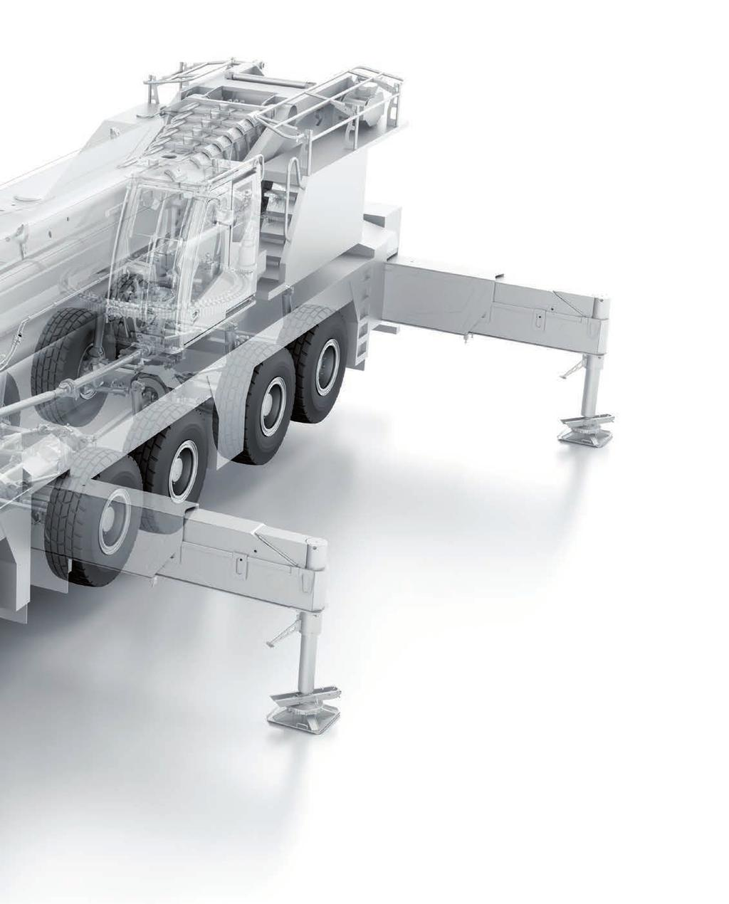 Mobile Crane Engine : Liebherr this is how to build cranes mobile crane
