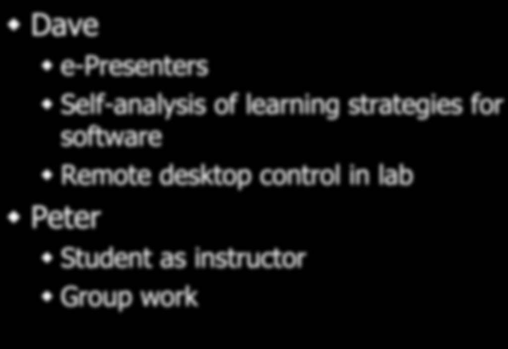 an analysis of teaching and learning with technology Educational technology:  synchronous teaching and learning online san franscisco:  a step-by-step approach to using sas for factor analysis.