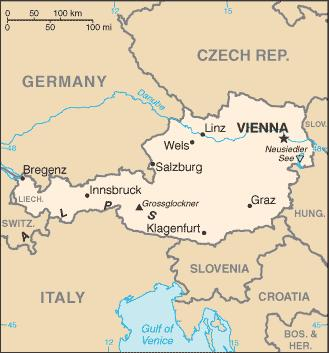 2.2 Case study Salzburg 2.2.1 Descriptive section Geographic position Source: The World Fact Book, http://www.cia.gov/cia/publications/factbook/geos/au.