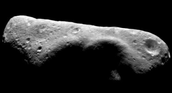 Missions to Asteroids Eros is one of the largest near- Earth asteroids.