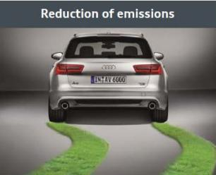 CO2-Emissions Acceleration 0,4 l/100km