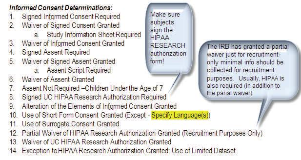 ALL ABOUT THE IRB APPROVAL LETTER
