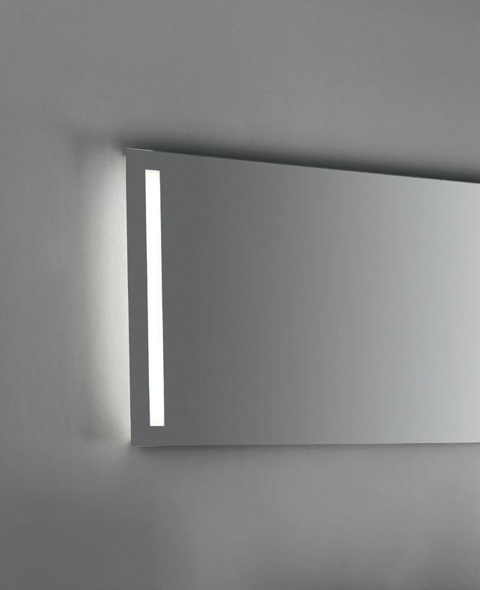 Specchiere a filo lucido sp 4 cm 438 polished edge mirrors for Mirror 120 x 60