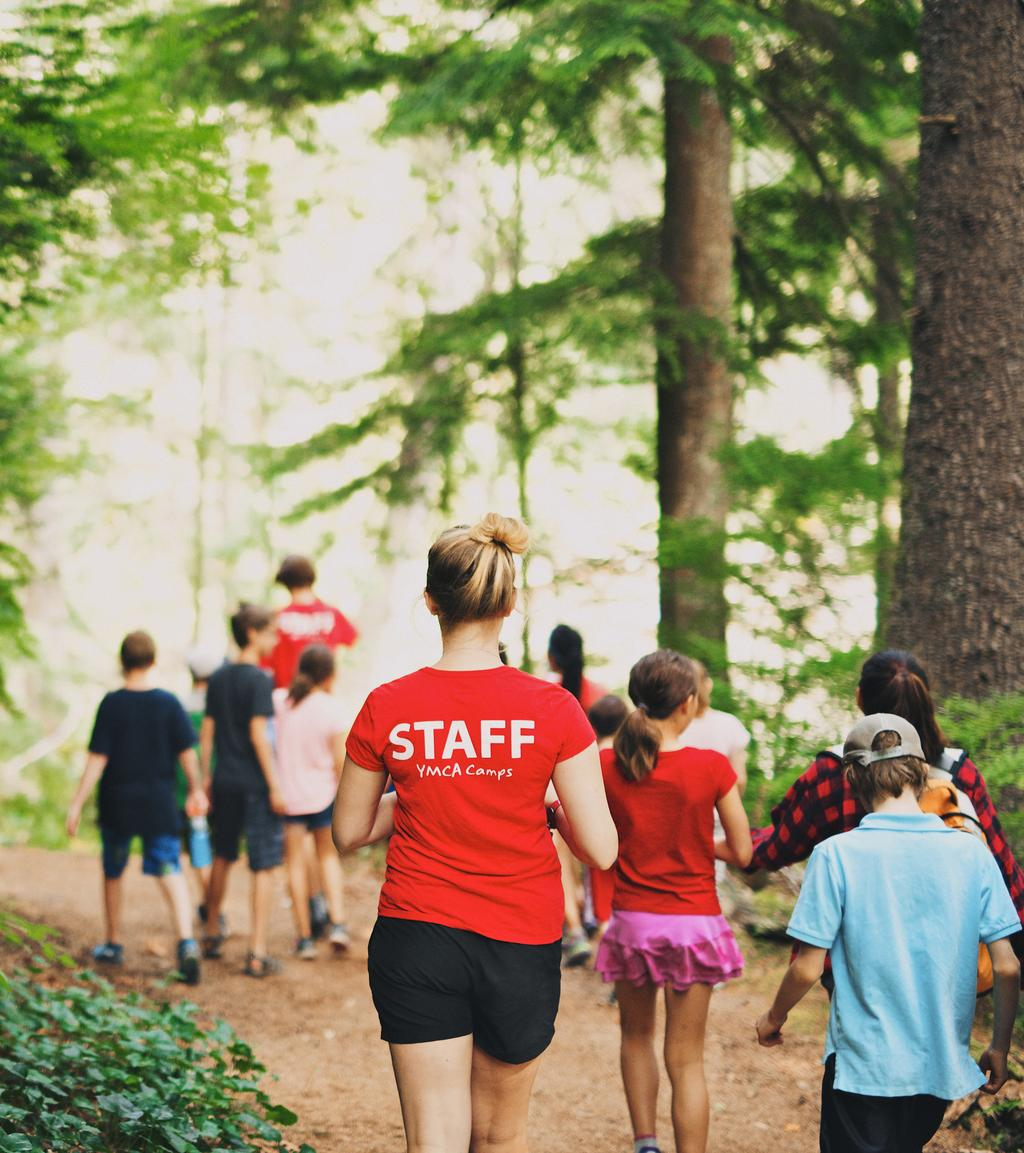 Ymca Youth Camps: GRADE 12. Open Registration