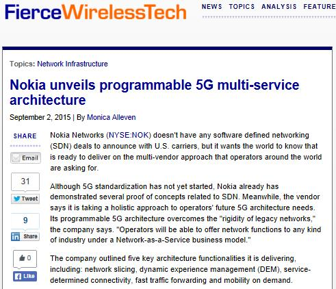 What Mobile Core Network Architecture Concepts Will Have