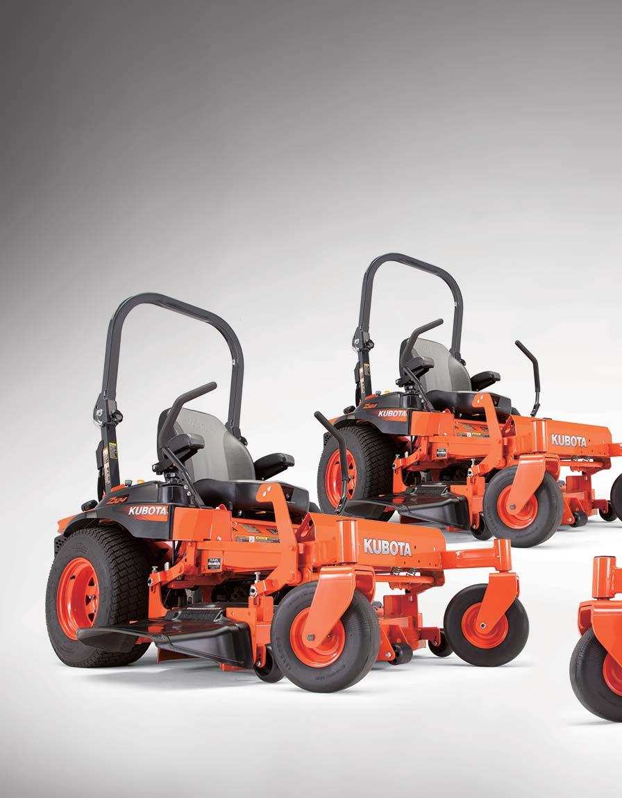 Z700 Series Kubota Zero Turn Mower Pdf Does Anyone Have A Mowing Belt Diagram For John Deere Lx Meet The Newest Members Of Commercial Mowers