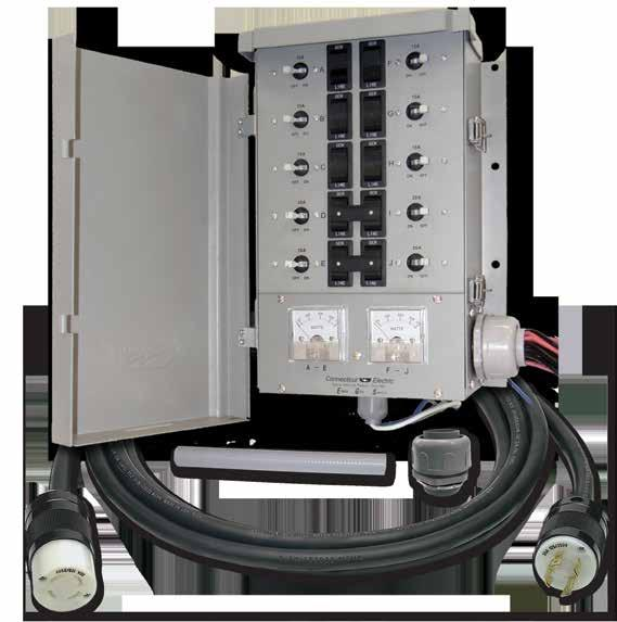 Replacement Circuit Breakers Manual Transfer Switch Kit for ...