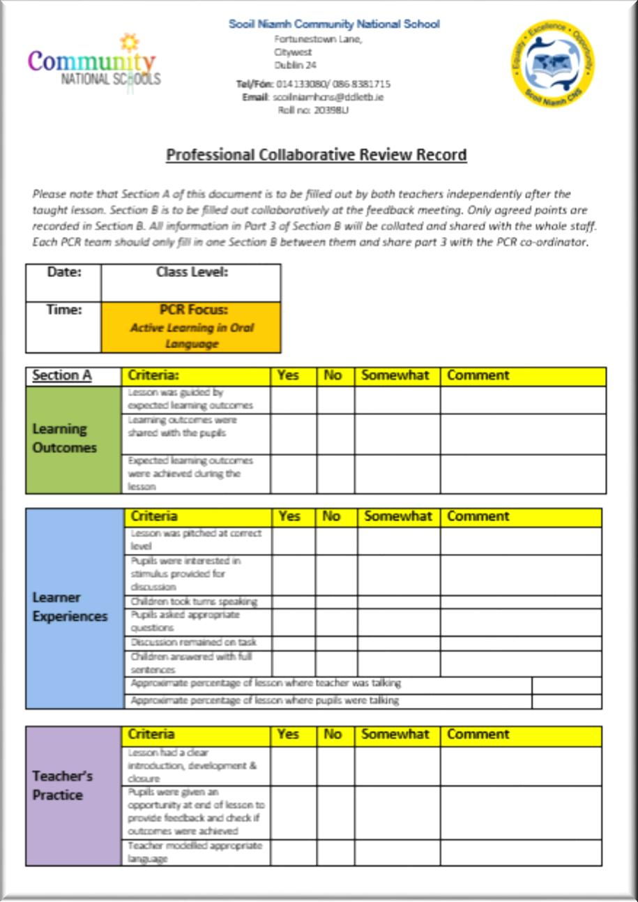 Collaborative Review Teaching : Professional collaborative review pdf