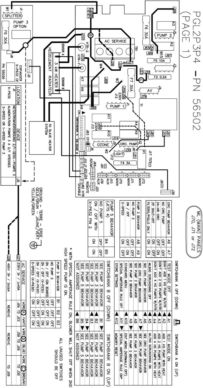 16 Wiring Diagram Spa Controllers Figure 7 Page 14