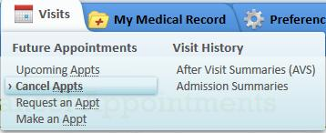 Ucsf Mychart Basics Cancellation Requests Can Be Submitted Only For Those Ointments