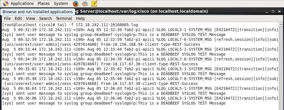 Syslog In Aci Overview Configuration Troubleshooting And Caveats