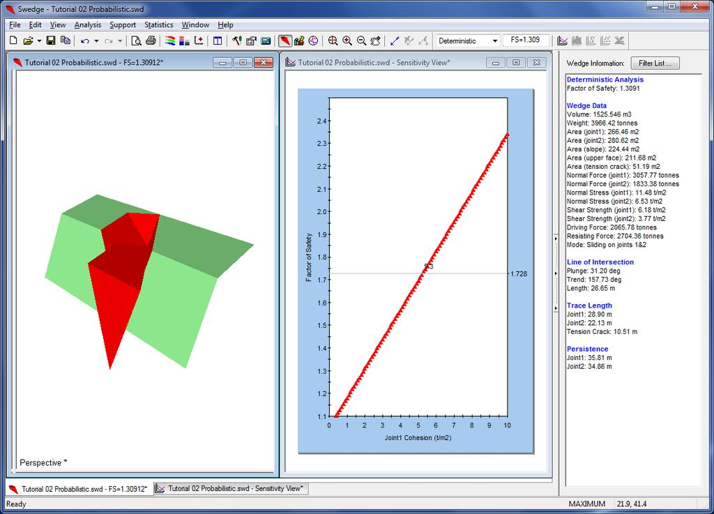 Slope Stability Back Analysis using Rocscience Software